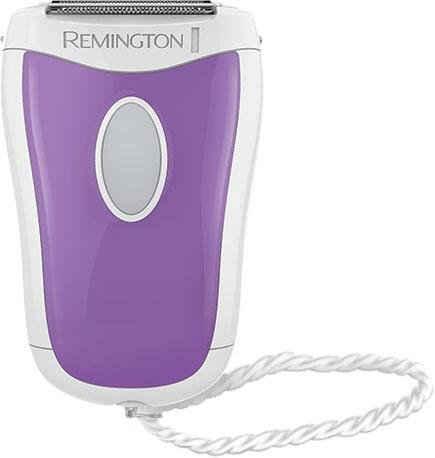 Remington Elektrorasierer Compact smooth&silky WSF4810, für Nass-und Trockenanwendung, batteriebetrieben