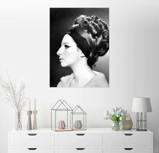 Posterlounge Wandbild »Barbra Streisand«