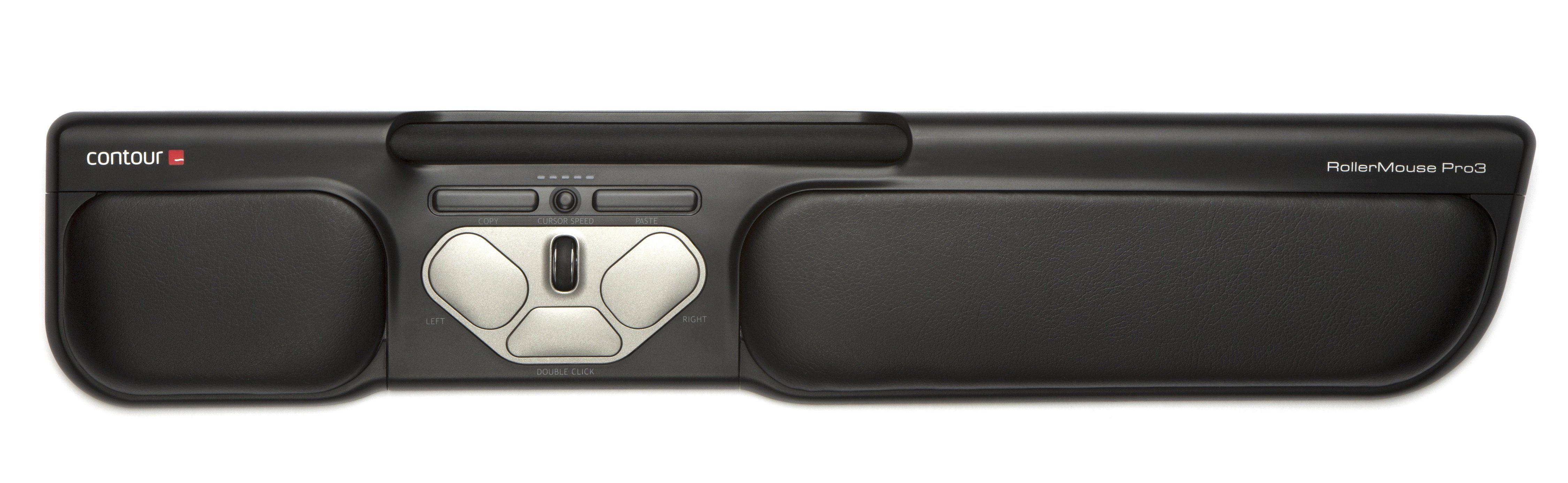 ROLLERMOUSE Maus »Pro3 USB schwarz«