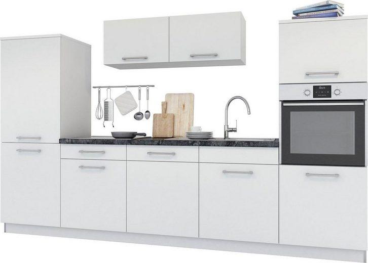 set one by Musterring Küchenzeile »Navaro«, mit E-Geräten, Breite 300 cm, vormontiert