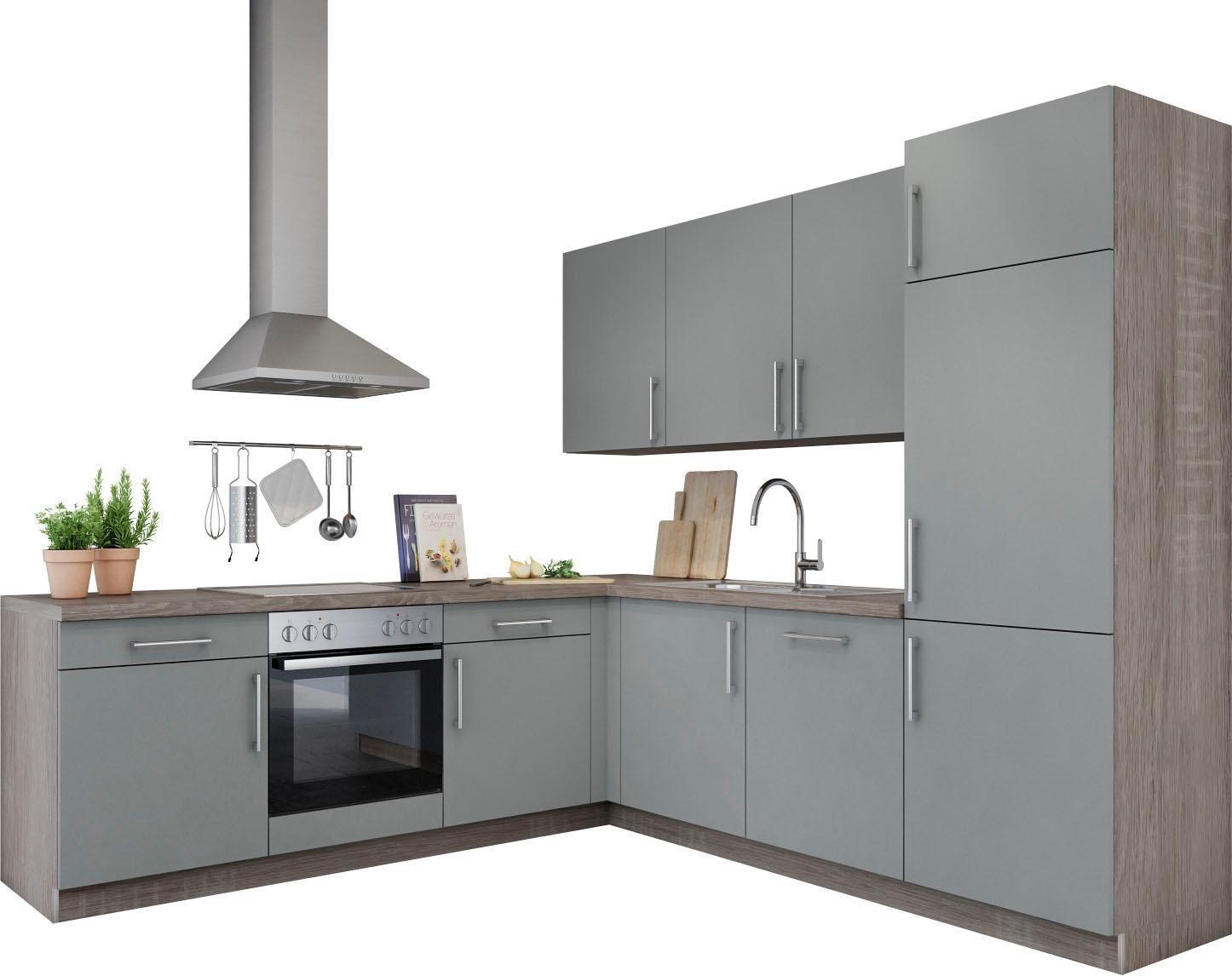 grau-holzwerkstoff Winkelküchen online kaufen | Möbel-Suchmaschine ...