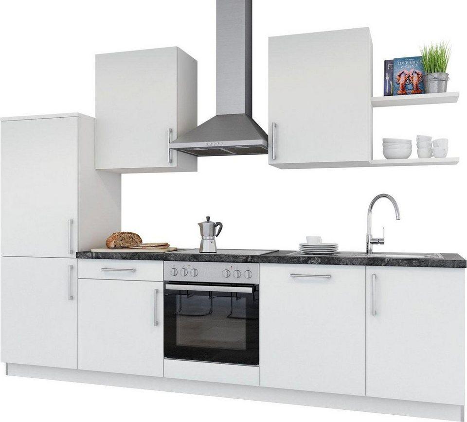 set one by musterring k chenzeile navaro ohne e ger te breite 290 cm vormontiert online. Black Bedroom Furniture Sets. Home Design Ideas