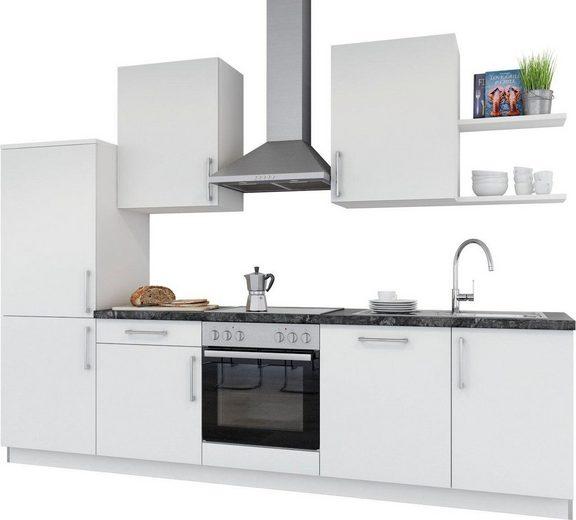 set one by Musterring Küchenzeile »Navaro«, mit E-Geräten, Breite 290 cm, vormontiert