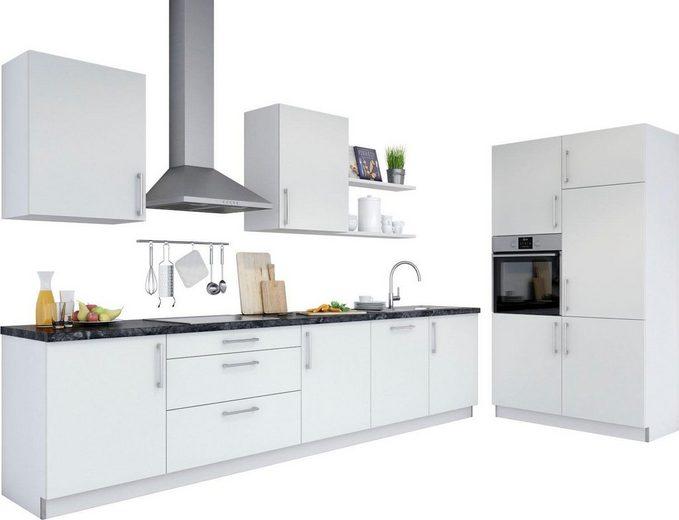 set one by Musterring Küchenzeile »Monza«, ohne E-Geräte, Breite 330 cm, vormontiert