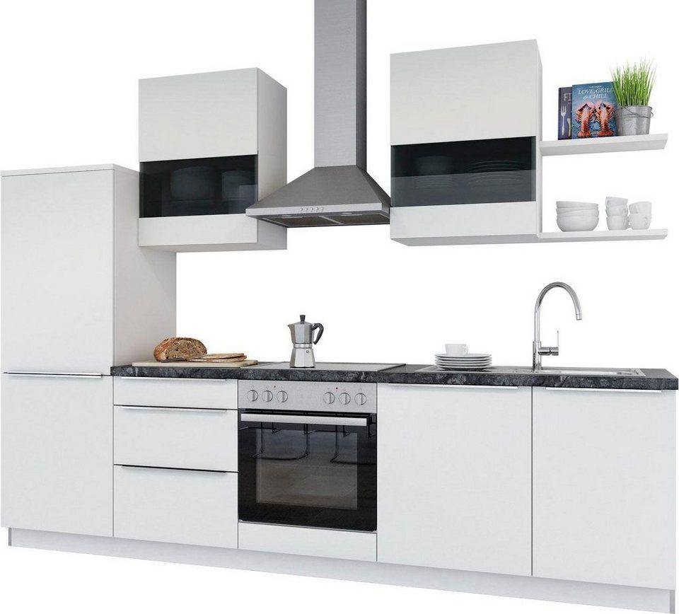 set one by Musterring Küchenzeile ohne E Geräte Monza , Breite 290 cm online kaufen OTTO