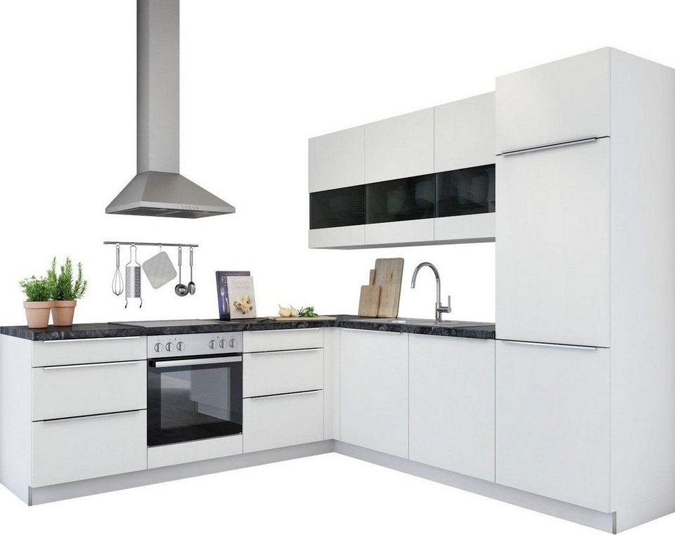 set one by musterring winkelk che ohne e ger te siena. Black Bedroom Furniture Sets. Home Design Ideas