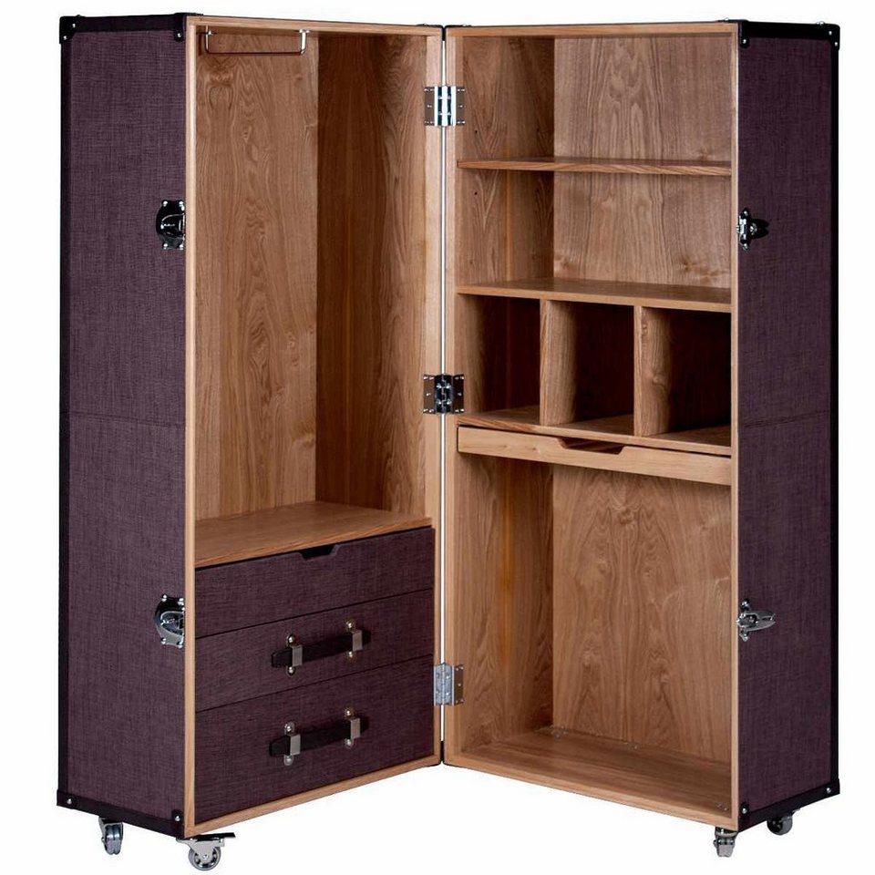butlers hemingway koffer schrank online kaufen otto. Black Bedroom Furniture Sets. Home Design Ideas