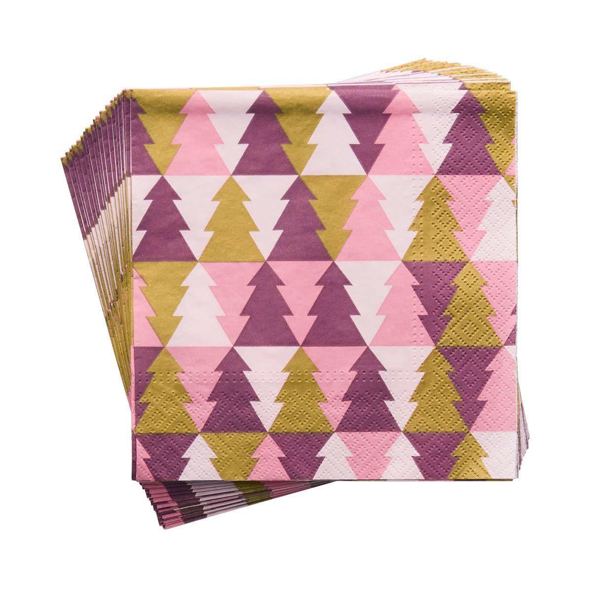BUTLERS APRÈS »Papierserviette Tannenbaum«