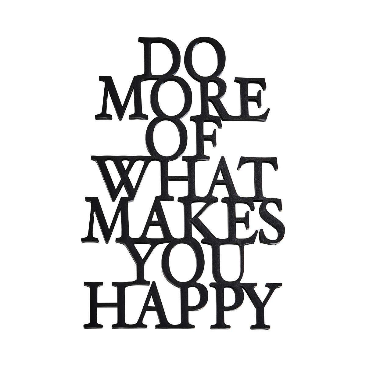 BUTLERS WORD ART »Schriftzug Happy«