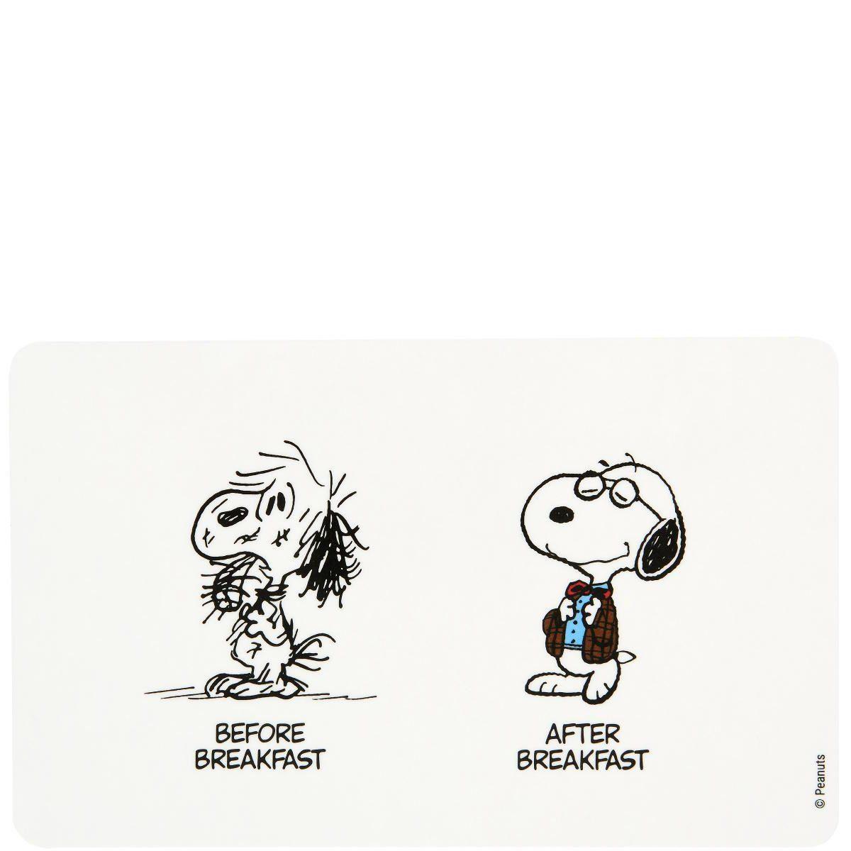 BUTLERS PEANUTS »Frühstücksbrettchen Before/After«