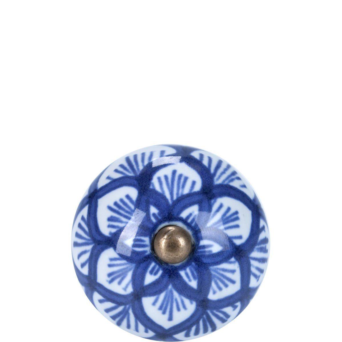 BUTLERS OPEN »Möbelknopf rund Ornament«