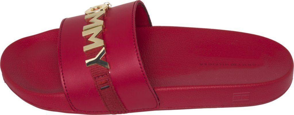 Tommy Hilfiger Sandale TOMMY BEACH SLIDE kaufen  TANGO RED