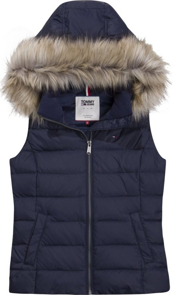 3bcf70e0f6f8 Tommy Jeans Weste »TJW ESSENTIAL HOODED DOWN VEST«   OTTO