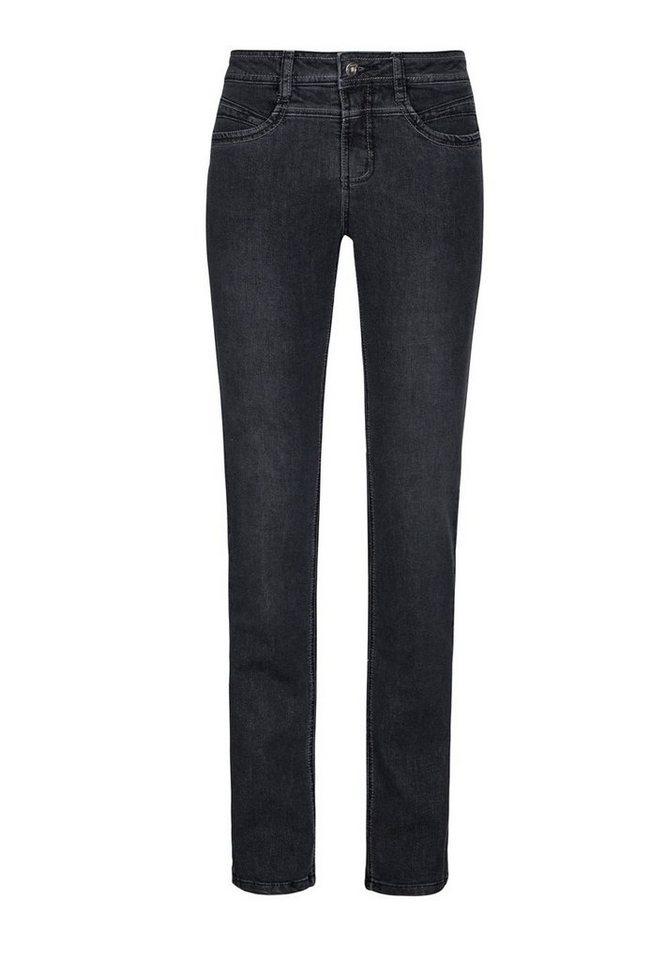 MILLION-X Gerade Jeans »Rita Super-Power- Demin-Strech« | Bekleidung > Jeans > Gerade Jeans | Schwarz | MILLION-X