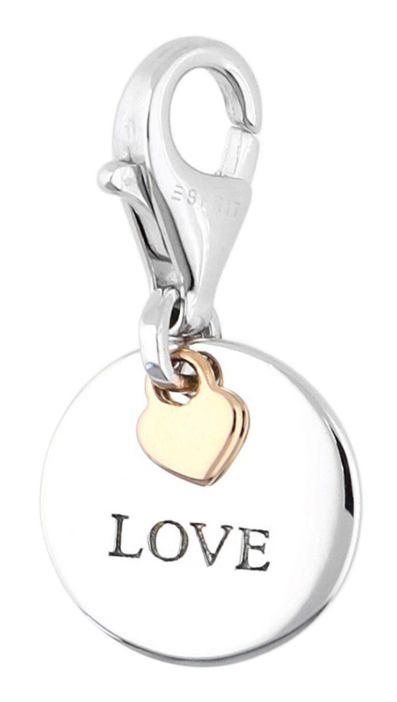Esprit Charm-Einhänger »Medal Love«