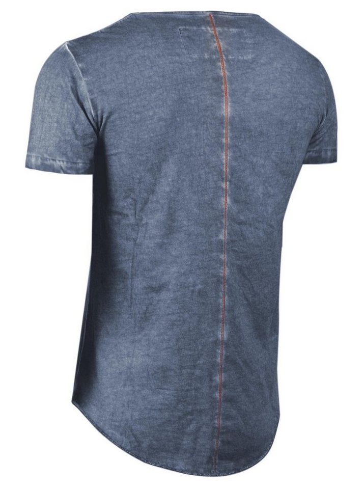 - Herren trueprodigy T-Shirt Girl & Beer blau   04057124011586
