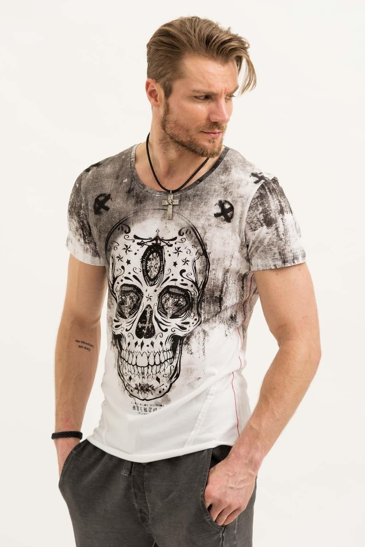 Herren trueprodigy T-Shirt Festival Of The Dead II weiß | 04057124034745