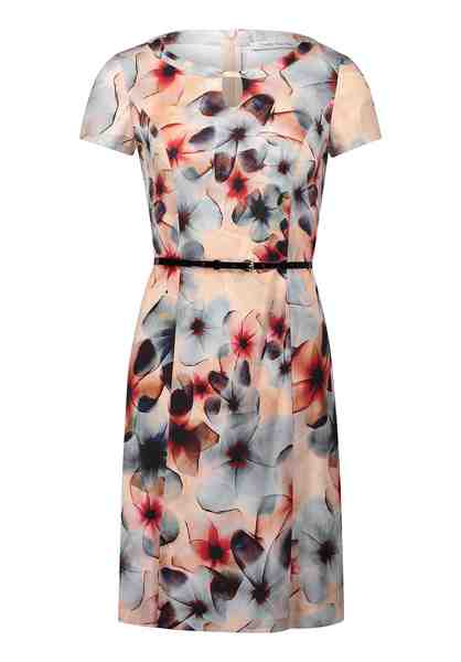Betty Barclay Florales-Kleid mit Gürtel
