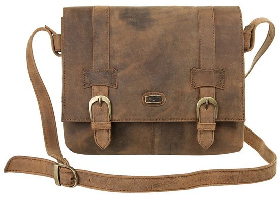 Gegerbt Harold's Bag Messenger Vegetabil »antic« aS00xIwqr