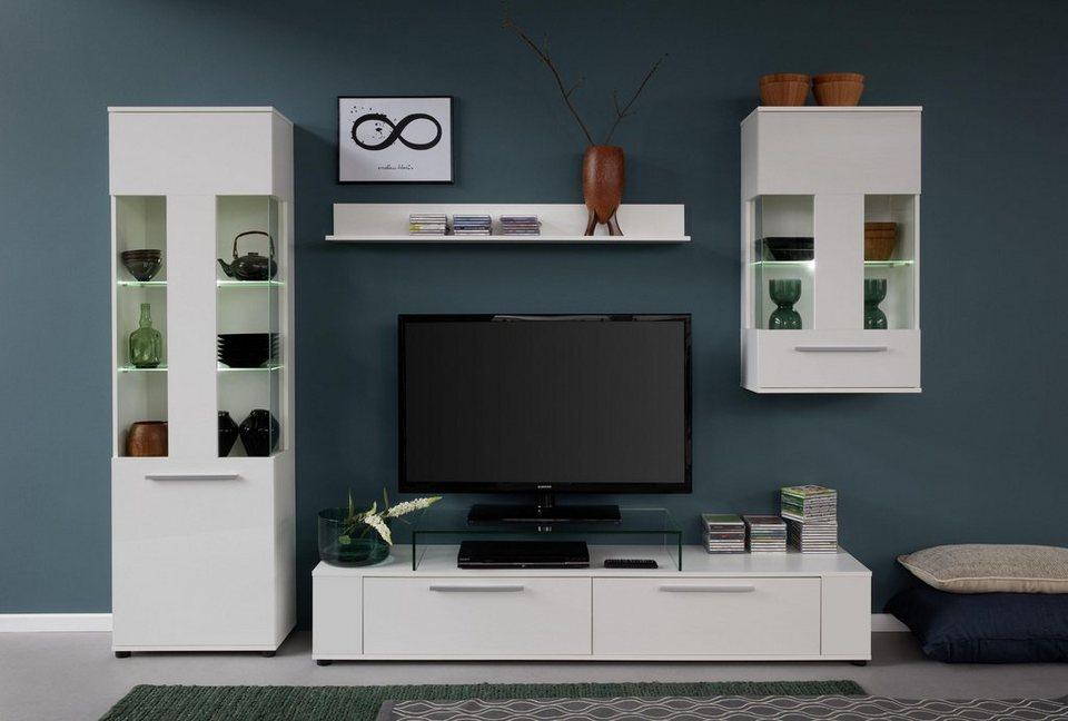 trendteam wohnwand jump 4 tlg online kaufen otto. Black Bedroom Furniture Sets. Home Design Ideas