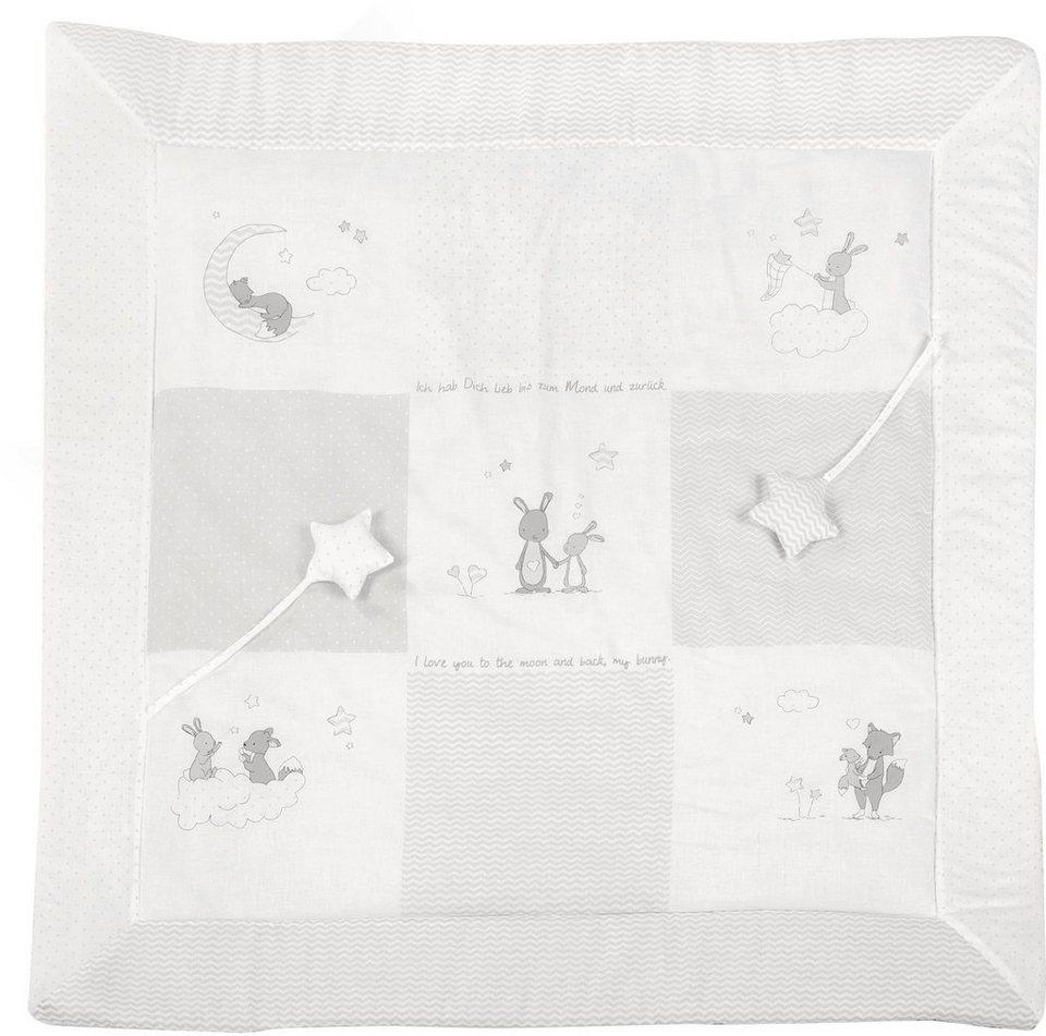 roba spiel und krabbeldecke fox bunny kaufen otto. Black Bedroom Furniture Sets. Home Design Ideas