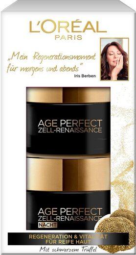 L'ORÉAL PARIS Gesichtspflege-Set »Age Perfect Zell-Renaissance Tag- und Nacht«, 2-tlg., mit Aminosäuren und Vitamin B