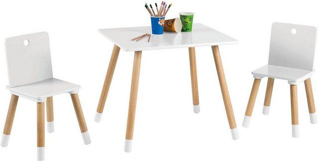 Sitzmöbel - roba® Kindersitzgruppe »Kindersitzgruppe, weiß«, (3 tlg)  - Onlineshop OTTO