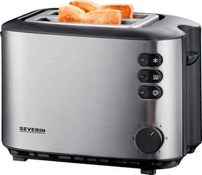 Severin Toaster AT 2514, 2 kurze Schlitze, für 2 Scheiben, 850 W