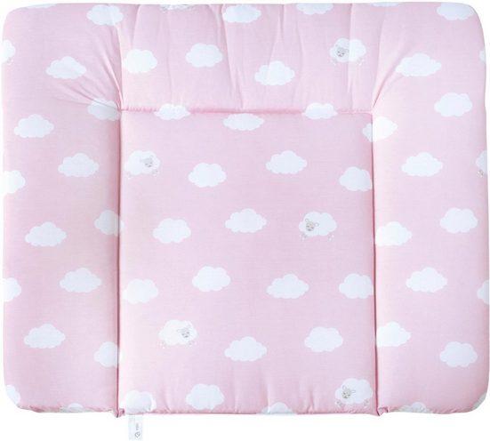 roba® Wickelauflage »Kleine Wolke, rosa«