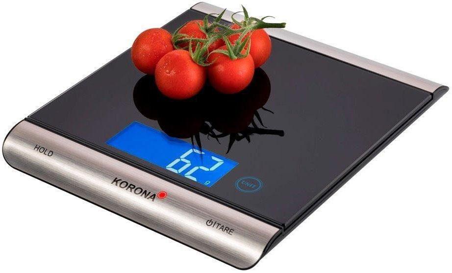 Korona Küchenwaage digital Finja 70230, Küchen-/Päckchenwaage 15 kg