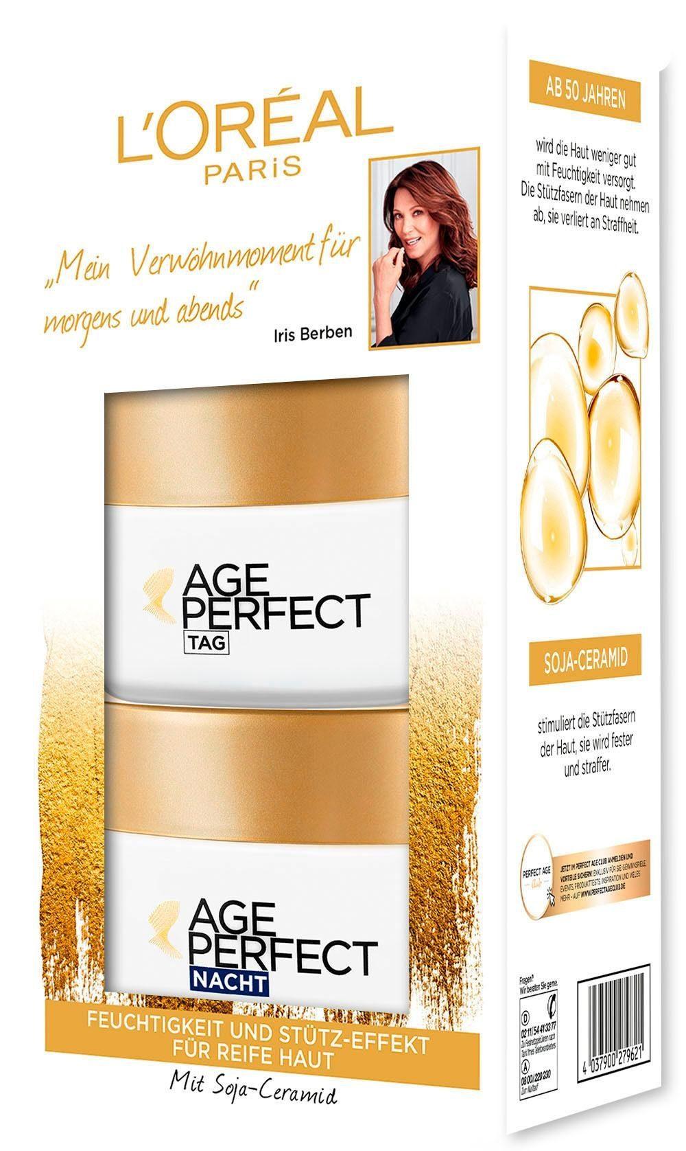 L'Oréal Paris, »Age Perfect Tag und Nacht«, Gesichtspflege-Set
