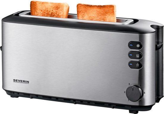 Severin Toaster AT 2515, 1 langer Schlitz, für 2 Scheiben, 1000 W