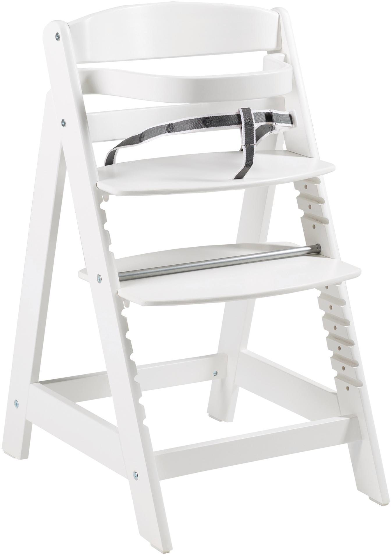 Roba Hochstuhl aus Holz, »Treppenhochstuhl Sit Up Click, weiß«   Kinderzimmer > Kinderzimmerstühle > Hochstühle   Weiß   Roba®