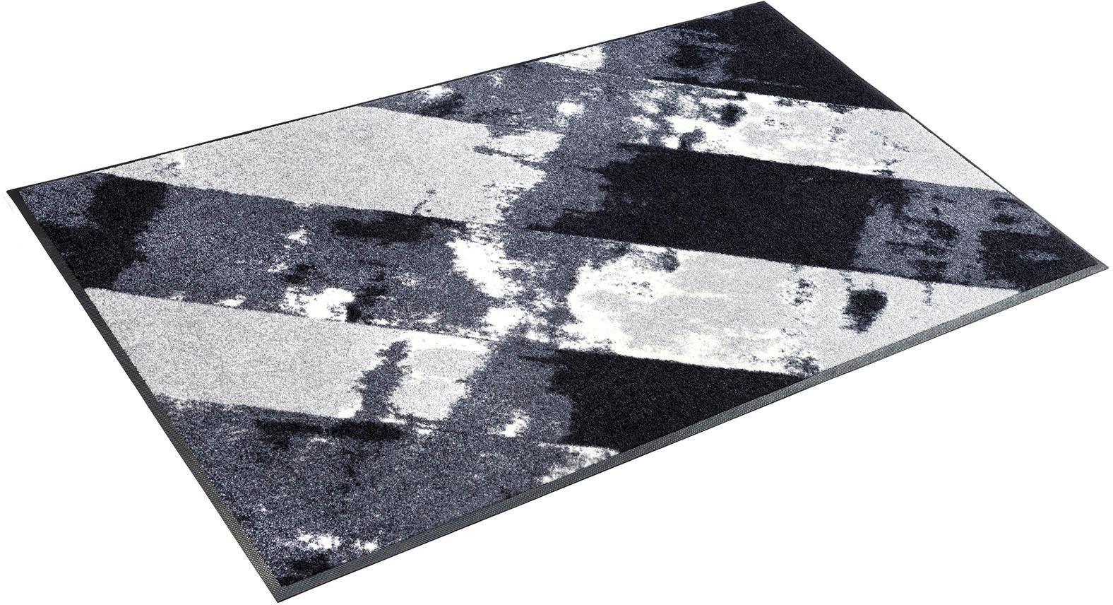 Fußmatte »Grey Paint«, wash+dry by Kleen-Tex, rechteckig, Höhe 7 mm