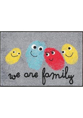 WASH+DRY BY KLEEN-TEX Durų kilimėlis »Happy Family« wash+dry...