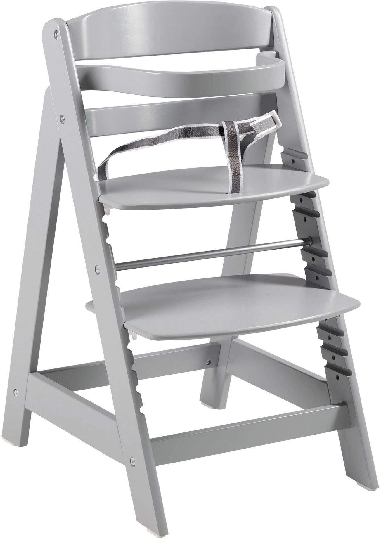 Roba Hochstuhl aus Holz, »Treppenhochstuhl Sit Up Click, taupe«