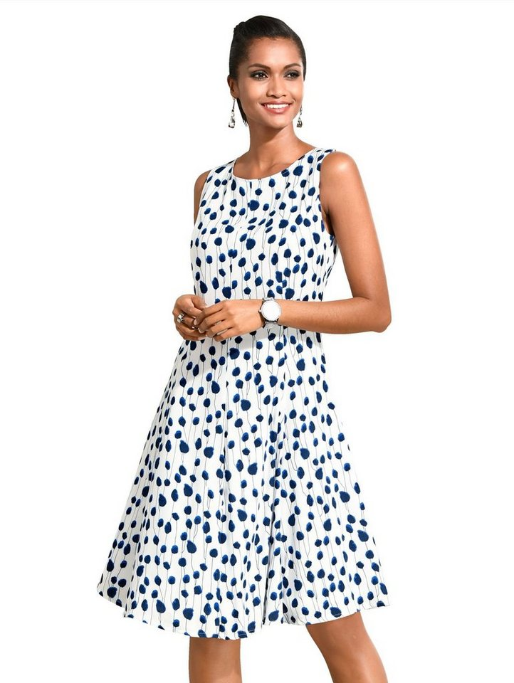 detailed images 50% price classic Alba Moda Kleid im femininen Punkte-Dessin kaufen | OTTO