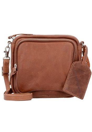 Damen,Kinder,Jungen Cowboysbag Verwood Umhängetasche Leder 16 cm braun | 08718586581920