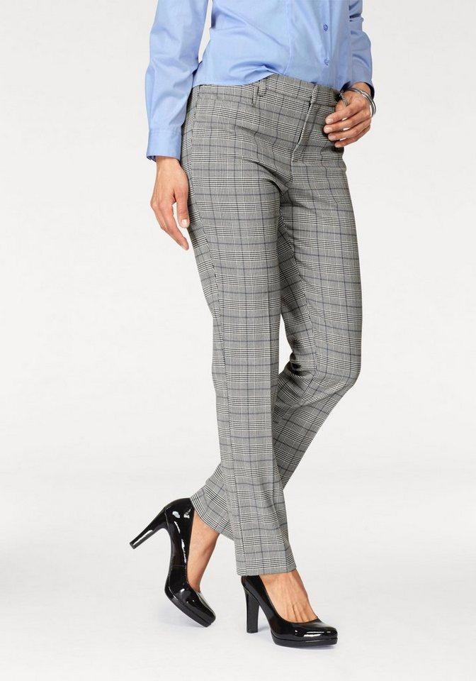 Bodyright Anzughose »Shaping« im modischem Glencheck-Look   Bekleidung > Hosen > Anzughosen   Weiß   Glencheck   Bodyright