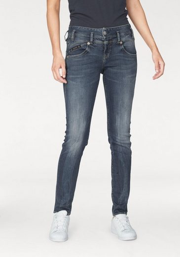 Herrlicher Slim-fit-Jeans »PEARL SLIM« High Waist Ultimate-Stretch
