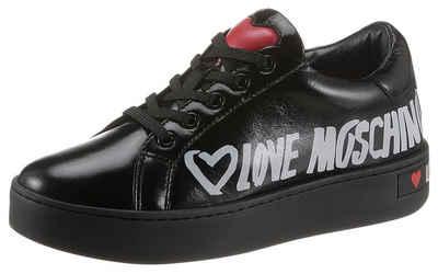 LOVE MOSCHINO Sneaker mit gepolstertem Schaftrand