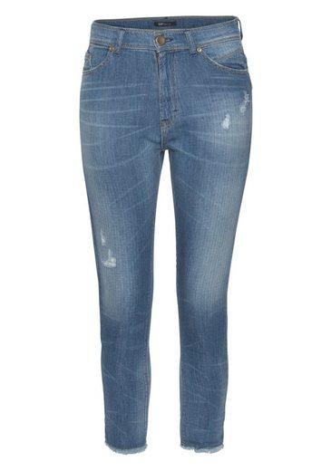 IMP by IMPERIAL Slim-fit-Jeans mit Streifenstruktur