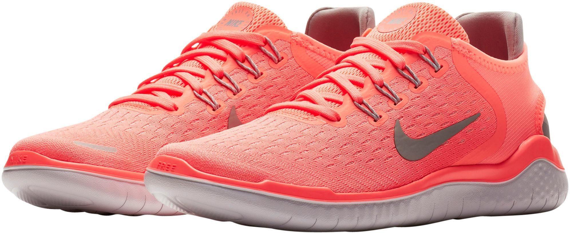 Nike Wmns Free Run 2018 Laufschuh online kaufen  neonkoralle