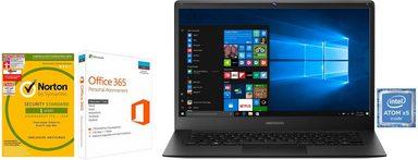 Medion® Akoya E4241 Notebook (35,6 cm/14 Zoll, Intel Atom, 64 GB SSD)