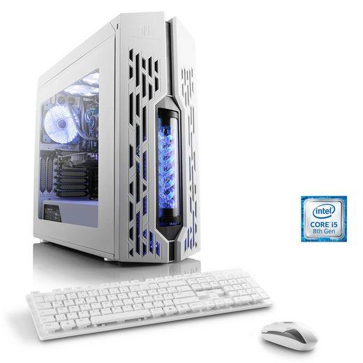 CSL Gaming PC, Intel Core i5-8500, GTX 1050 Ti, 8 GB DDR4 RAM »HydroX T5510 Wasserkühlung«