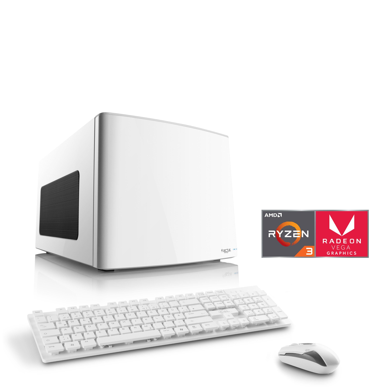 CSL Mini-ITX PC | Ryzen 3 2200G | Radeon Vega 8 | 8 GB DDR4 »Gaming Box T8311 Windows 10«
