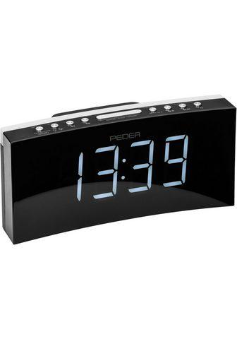 PEDEA Radio »FM Radijas su laikrodžiu su Pro...