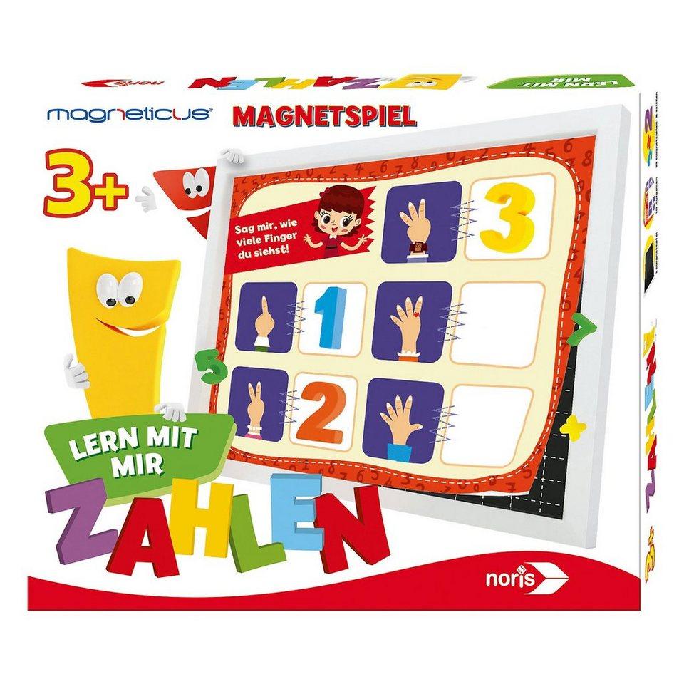 Noris Magnetspiel Magneticus Lern mit mir - Zahlen