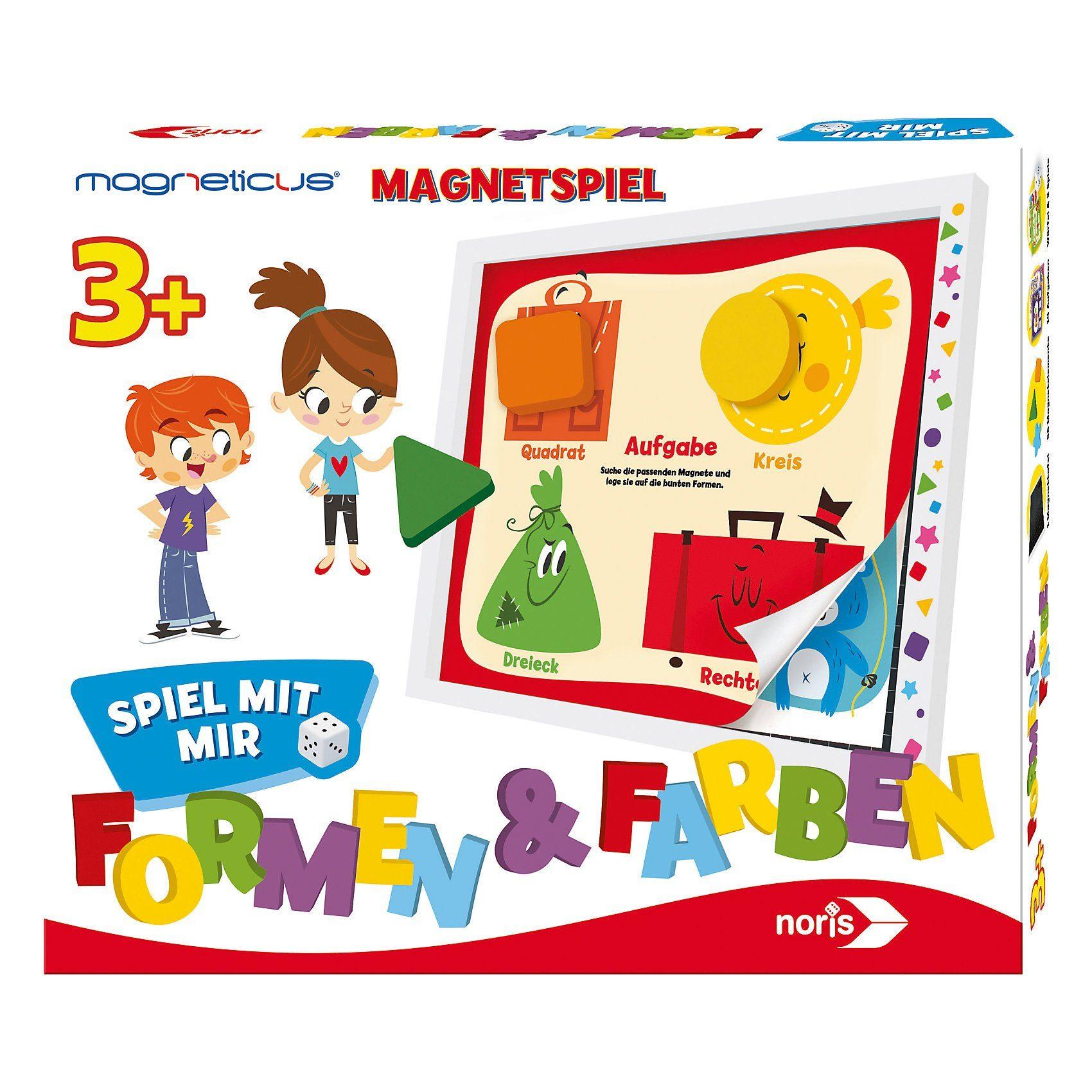 Noris Magneticus Spiel mit mir - Formen & Farben