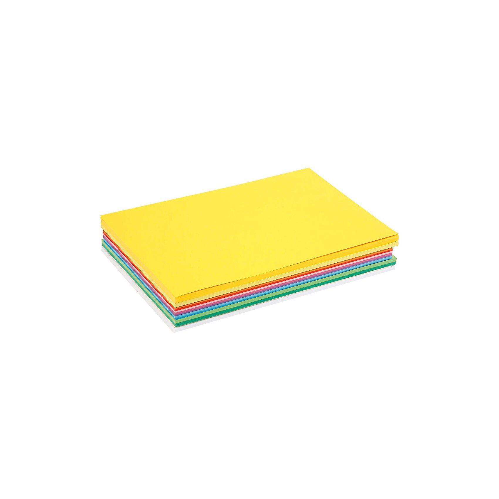 Karton in sortierten Farben, A4 210x297 mm, 180 g, Sortiert